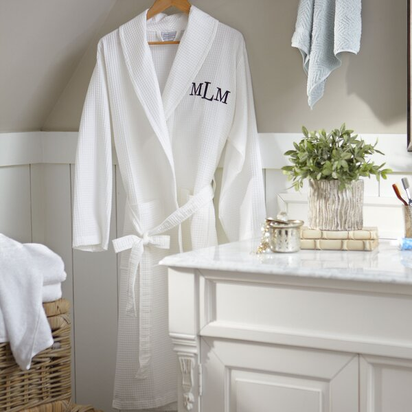 100% Cotton Bathrobe by Birch Lane™